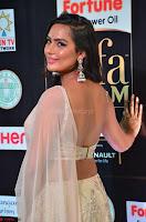 Prajna Actress in backless Cream Choli and transparent saree at IIFA Utsavam Awards 2017 0015.JPG