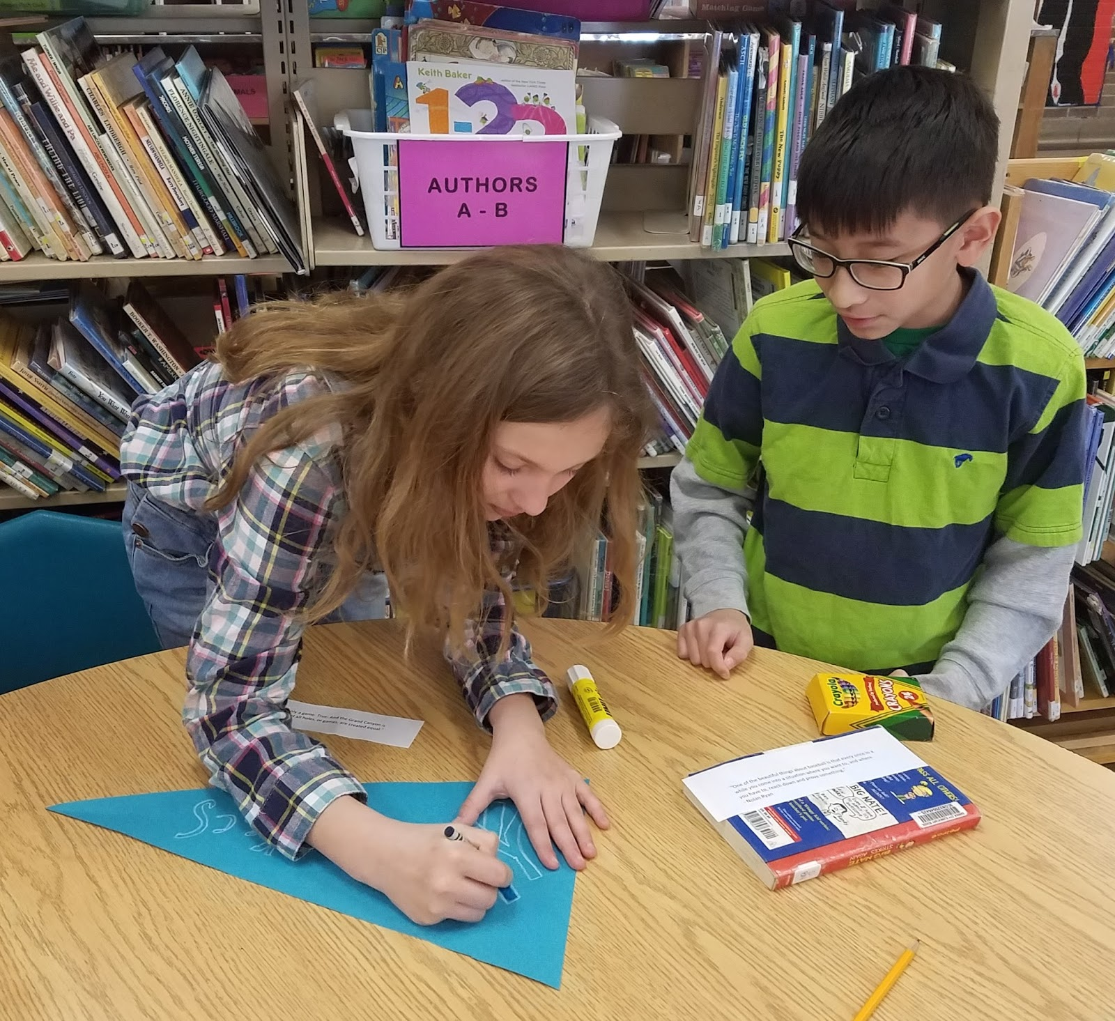 Garden City Library Goings-On: Reading Week Pennants - Room 10
