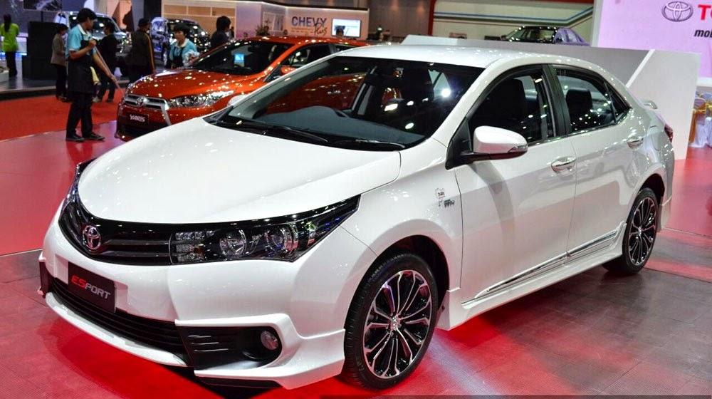 toyota corolla altis esport 1 -  - Toyota trình làng phiên bản Corolla Altis ESport - Phiên bản thể thao của Toyota Corolla Altis 2015