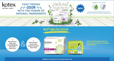 Sample Free From Kotex