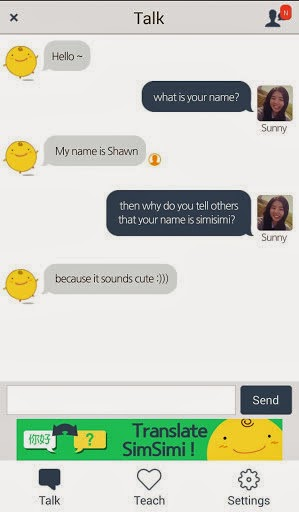 SimSimi 6 0 2 APK   The Best Android Applications