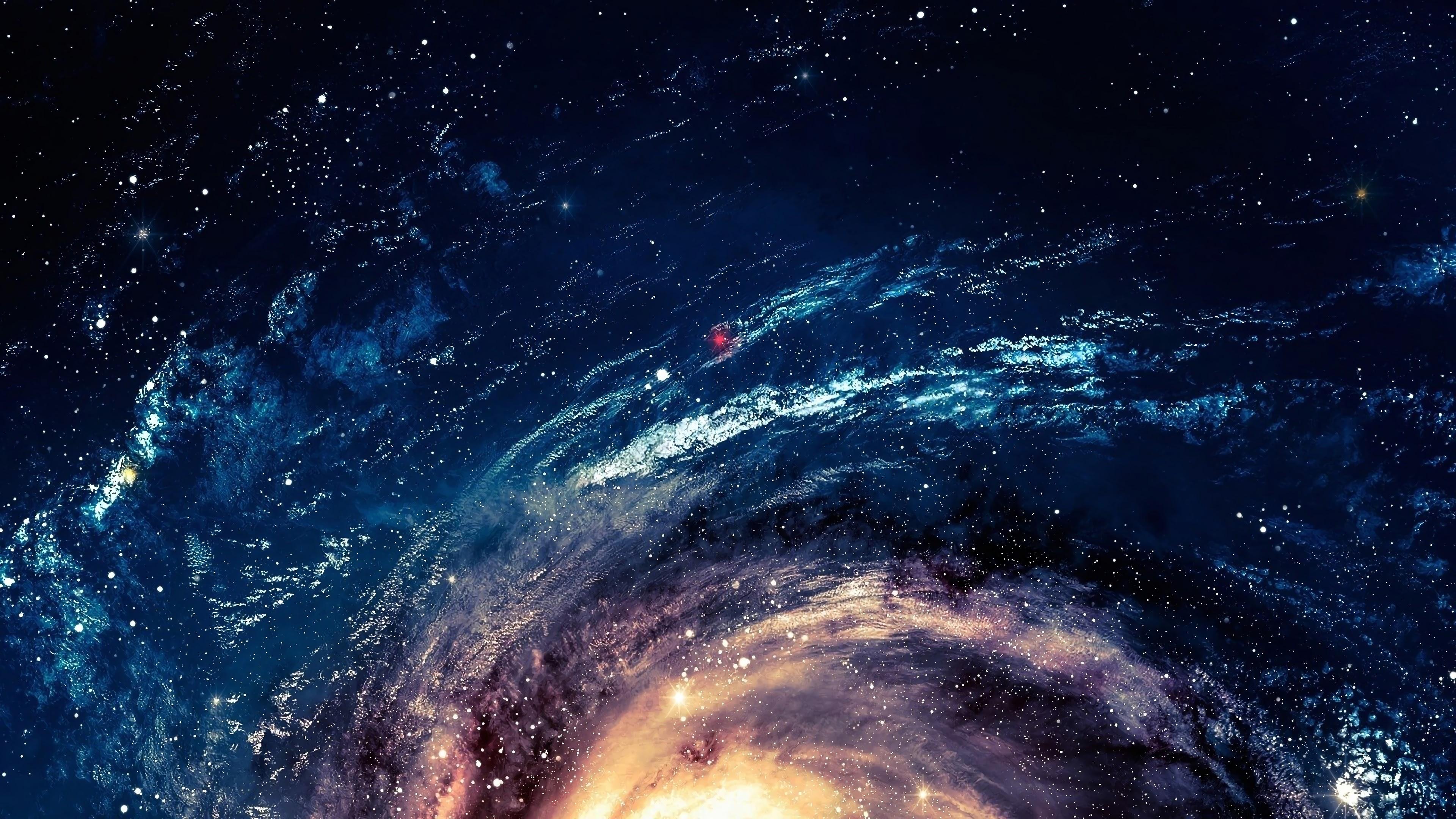 Galaxy, Space, Stars, Background, 4K, 3840x2160, #29 Wallpaper