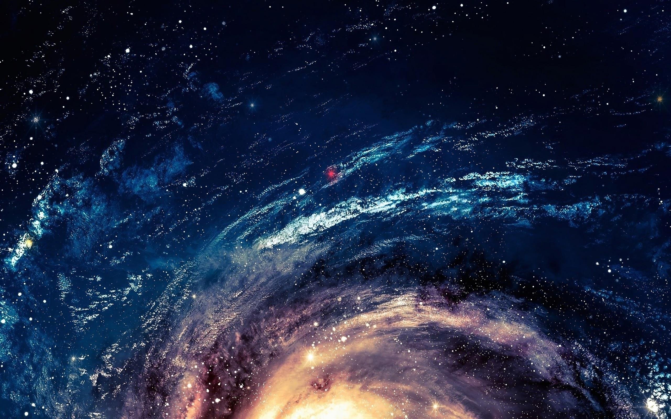 galaxy stars space 24 4k