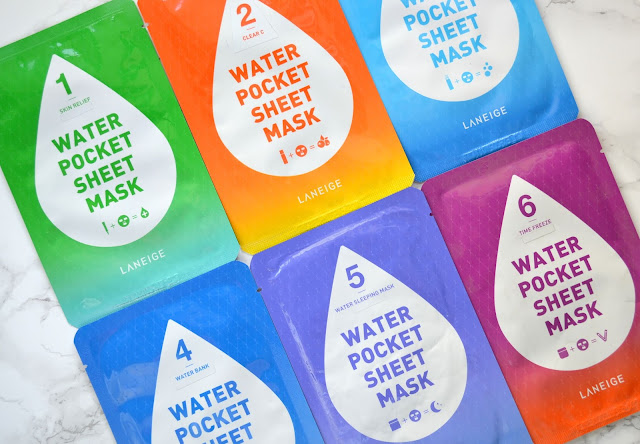Laneige Water Pocket Sheet Mask Review
