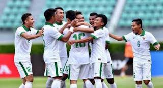 Indonesia Menang Tipis 3-2 atas Mongolia