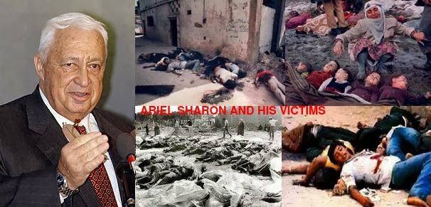 Image result for the crimes of ariel sharon