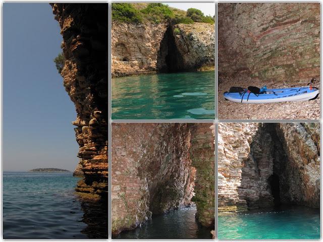 Ηγουμενίτσα: Η παραλία του σπηλαίου στη Λυγιά, στην μύτη Δρεπάνου