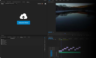 Adobe Premiere Pro, Video Editing, Video Production, Vlog, Vimeo, Fitur Review Vimeo, Adobe Premiere Pro Panel Vimeo;
