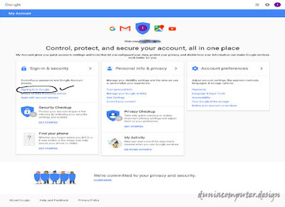 cara ganti password account gmail