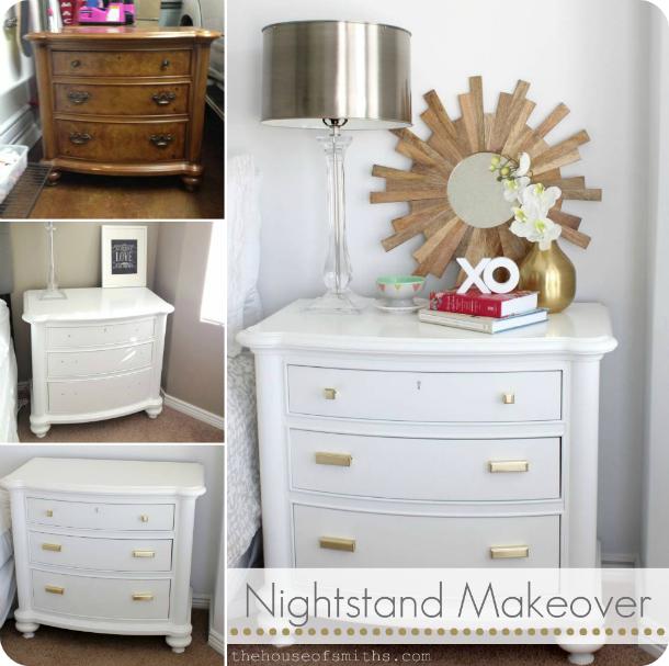 Master Bedroom Makeover Nightstand Revamp A Clean Slate