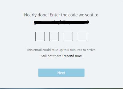 Linkedin Lookup: Registration Step 4