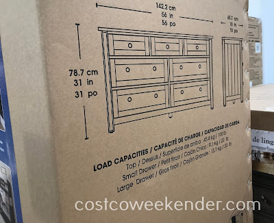 Bayside Furnishings Dresser: great for any bedroom