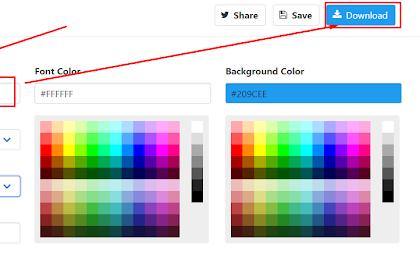 Khusus Blogger Pemula Cara Mengganti Favicon atau Icon Di Blog dan Cara Membuat Logo Text Header Keren dan Mudah