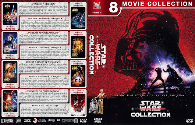 Star Wars Collection DVD Cover