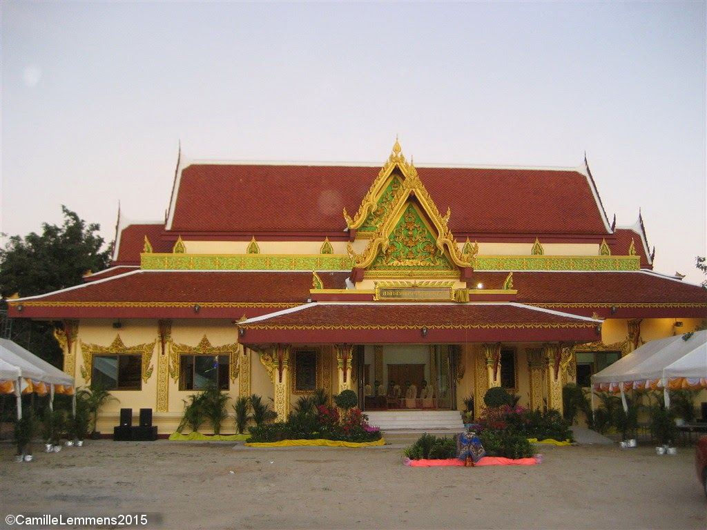 New Sermon Hall at Wat Plai Laem has been opened