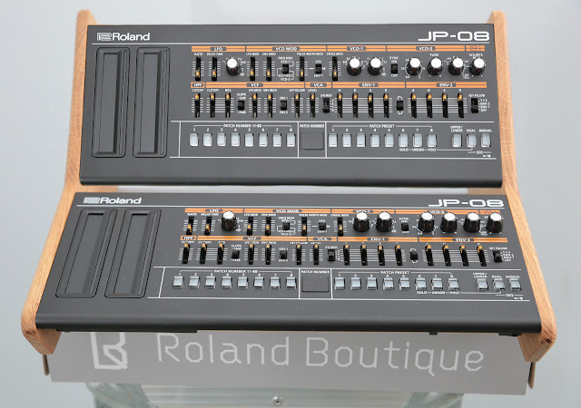 Matrixsynth Solid Oak Dual Roland Boutique Tier Stand