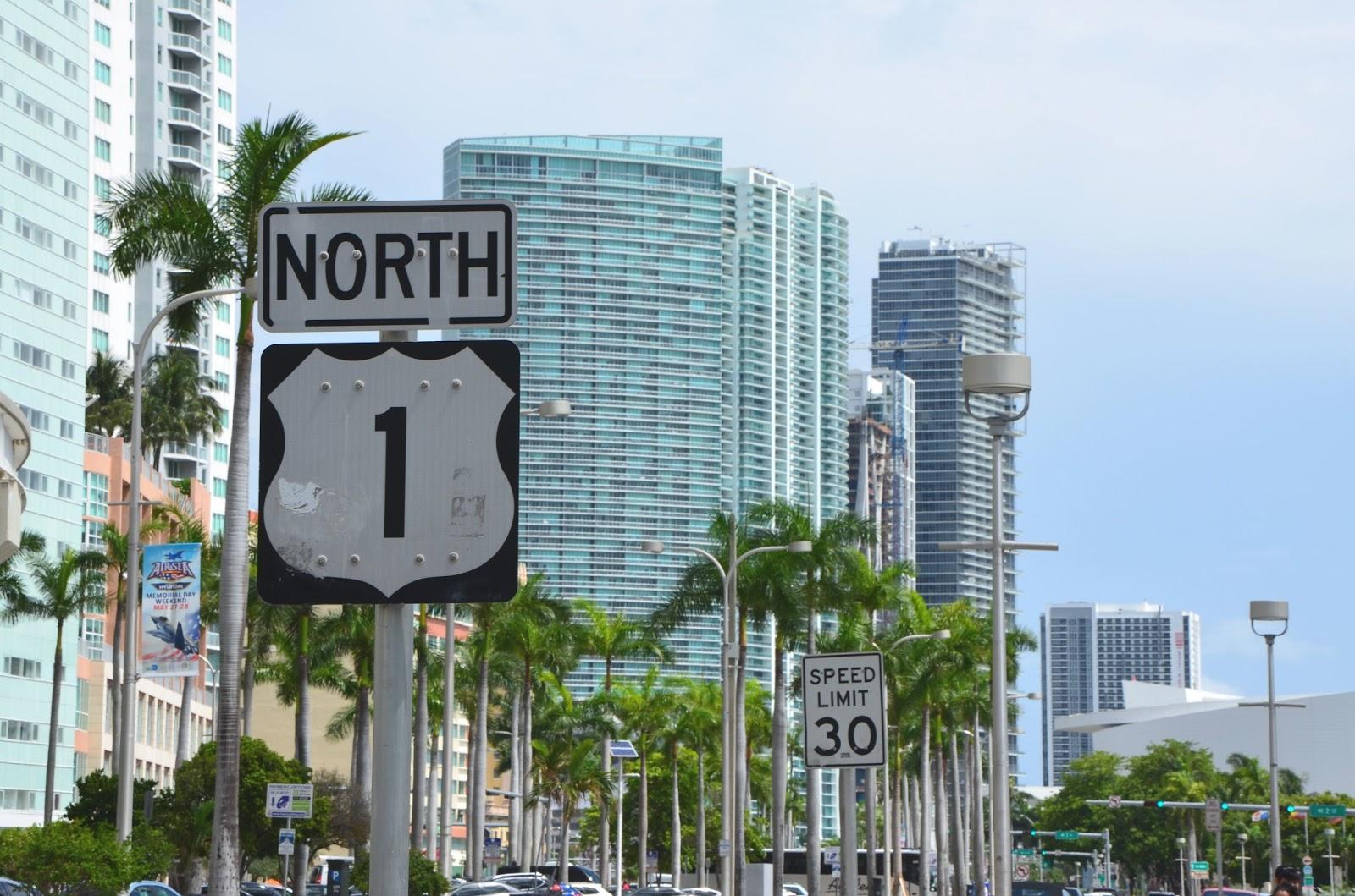 Biscaye boulevard Downtown Miami floride USA juin 2017