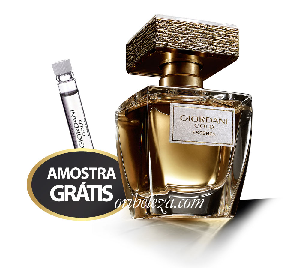 Amostra do Parfum Essenza Giordani Gold