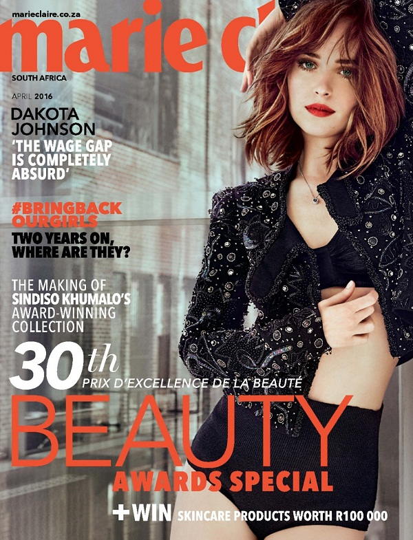 Dakota Johnson Marie Claire Magazine Cover