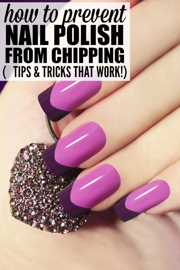 How to Keep Nail Polish From Peeling/Chipping: Tips & Tricks
