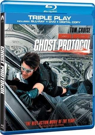 Misión imposible 4 Protocolo Fantasma 720p HD Español Latino