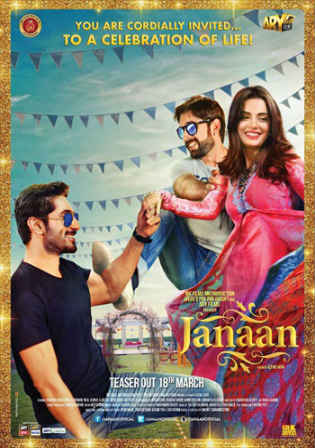 Janaan 2016 HDRip 350MB Full Urdu Movie Download 480p Watch Online Free bolly4u