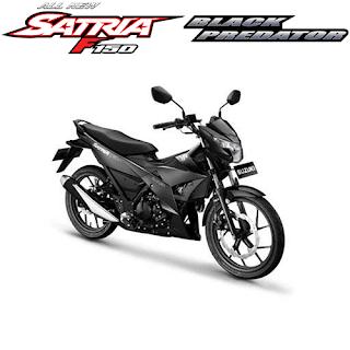 Kredit Motor Suzuki Satria F150 Black Predator Murah