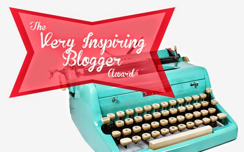 "7° PREMIO - ""The Very Inspiring Blogger Award"""