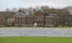 Kensington Palace from Kensington Gardens