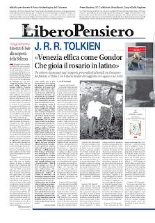 """Tolkien e l'Italia: Recensione n. 2 su """"Libero"""""""