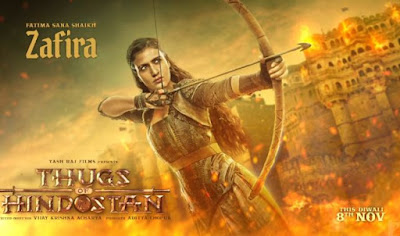 Fatima Sana Shaikh Looks in Thugs of Hindostan, Thugs of Hindostan Movie First Look