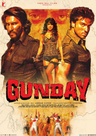 Gunday 2014 BluRay 400MB Full Hindi Movie Download 480p Watch Online Free bolly4u