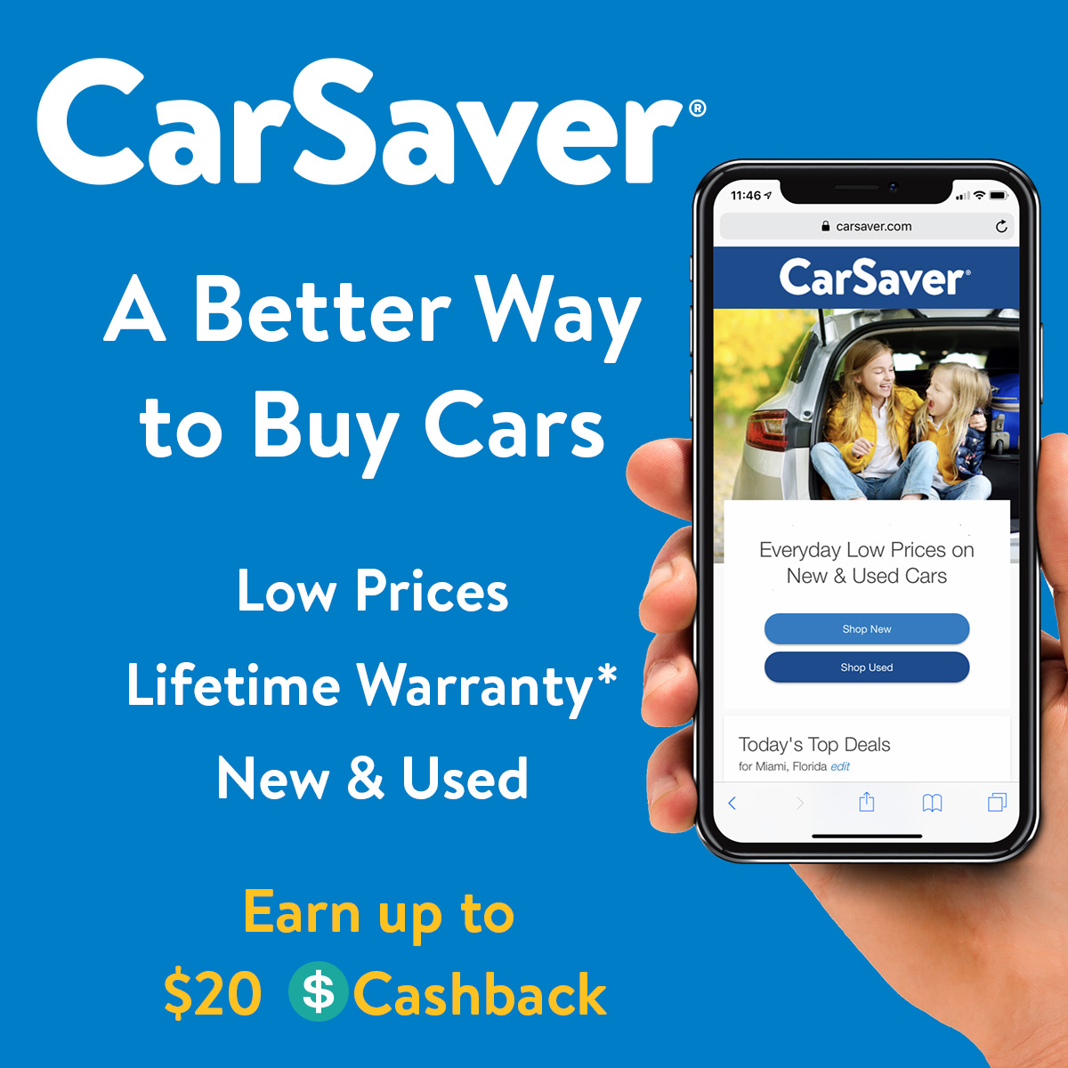 Buy a Car - Introducing Car Saver