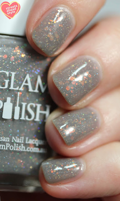 Glam Polish Good show, Mr Kowalski! 2.0 swatch by Streets Ahead Style