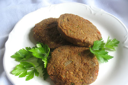 Spiced Teff Cakes with Sun-Dried Tomatoes