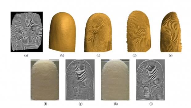 Imprimen en 3D la huella digital para desbloquear su teléfono