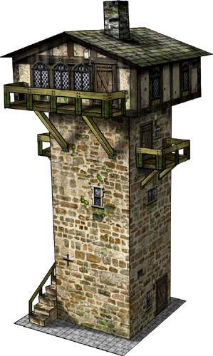 Modern Guard House Design: Minecraft Building Ideas: Watch Tower