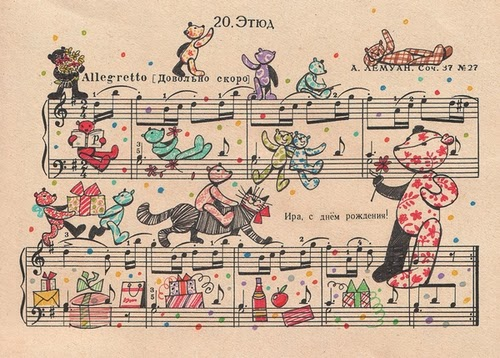 11-Alexey-Lyapunov-&-Lena-Erlich-People-Too-Russian-Illustrators-Designers-Musical-Sheet-Cartoons-www-designstack-co