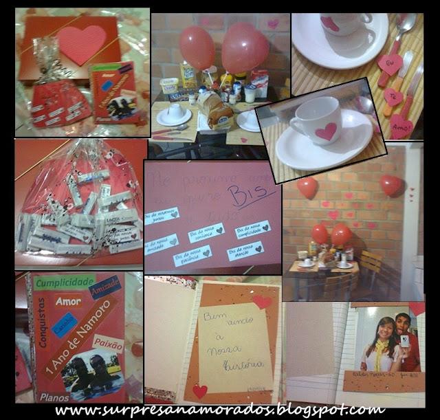 Ideias para comemorar 1 ano de namoro