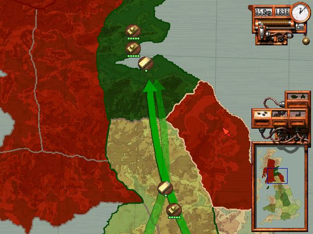 Screenshot from Jeff Wayne's The War of the Worlds