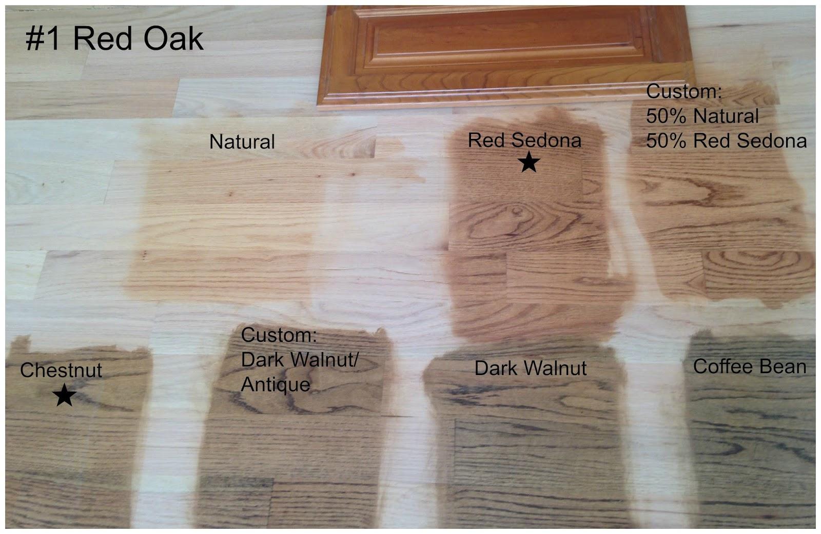 Dark Hardwood Floors With Cherry Wood Cabnits Attractive