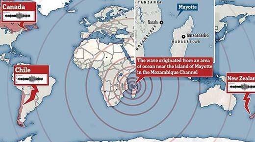 Demasiado perfecto para ser natural: Extrañas ondas sísmicas fueron propagadas alrededor del Mundo