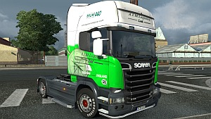 A.I.M. Logistics skin for Scania Streamline