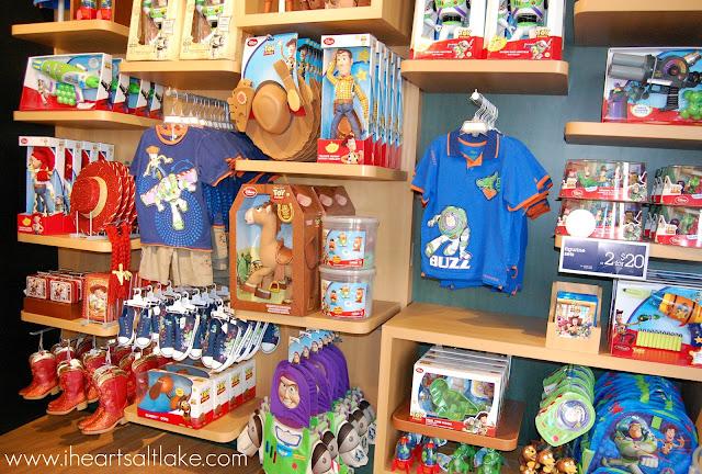 I Heart Salt Lake Disney Store Grand Opening At City
