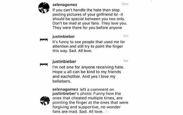 BATTLE OF EXES: Justin Bieber Permanently Deletes His Instagram Account After Comment War With Ex-Girlfriend Selena Gomez.