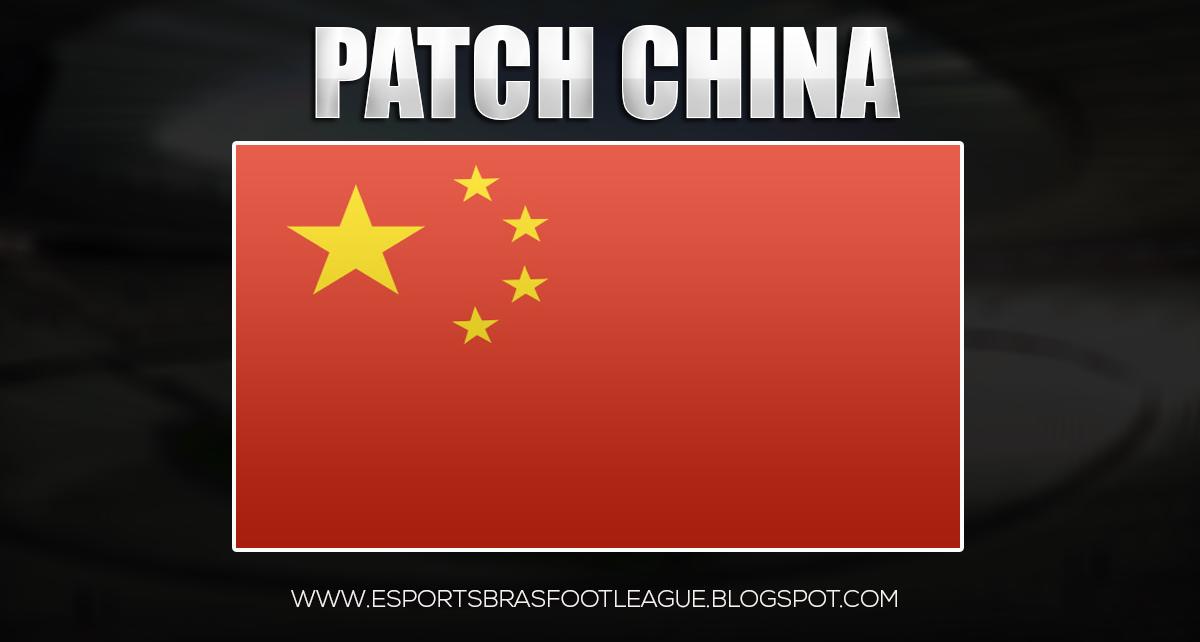 patch china brasfoot 2018