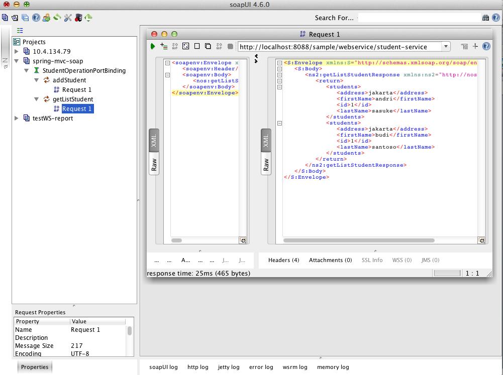 Nostra Technology: Create SOAP webservice di Spring MVC