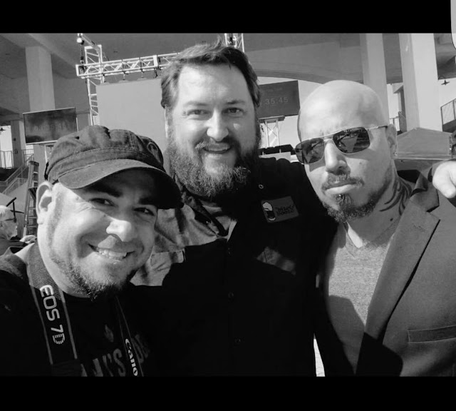 Adam Feinberg, Jay Ducote and Vic Vegas at WFC 2016