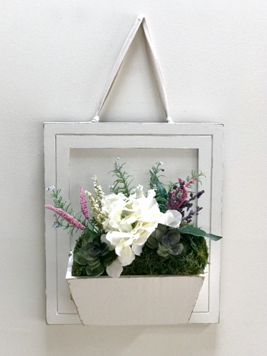 Repurposed flower box