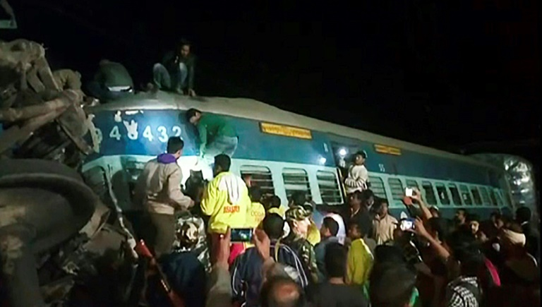 The accident at Kuneru is only the latest in a series of incidents on one of the wrold's largest railway networks